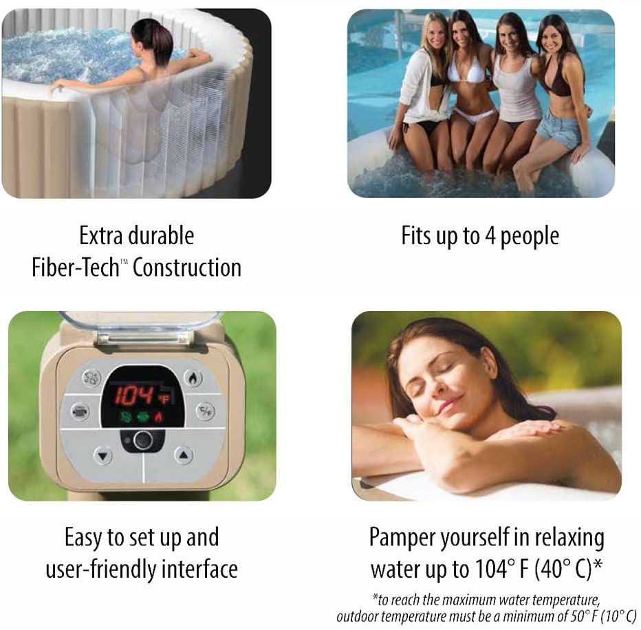 Intex Inflatable PureSpa Review