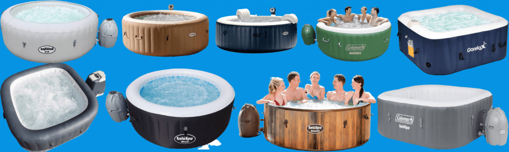 9 Best Rated Inflatable Hot Tub
