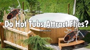 Do hot tubs attract flies? Yes, they do. Because of your body heat, and hot tub water heat, the flies come around. But, there's a way to keep flies/bugs away from your hot tub.