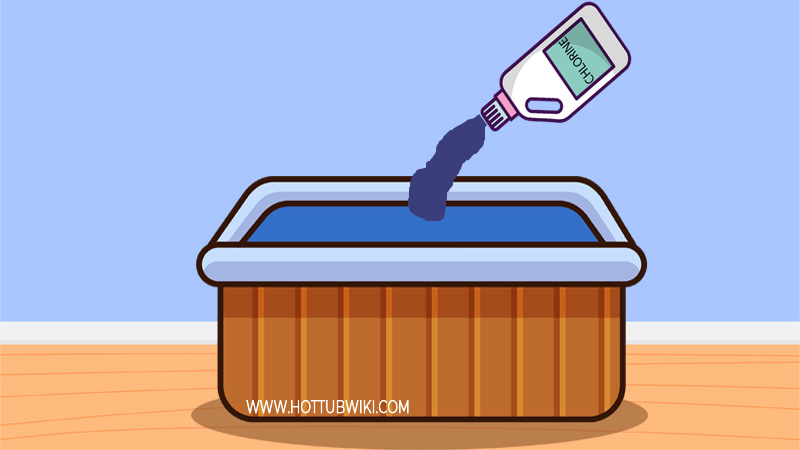 You can add chemicals, but that chemicals can you add to cold water? You can add sanitizers such as bromine or chlorine, and you can add pH increase or decreases.