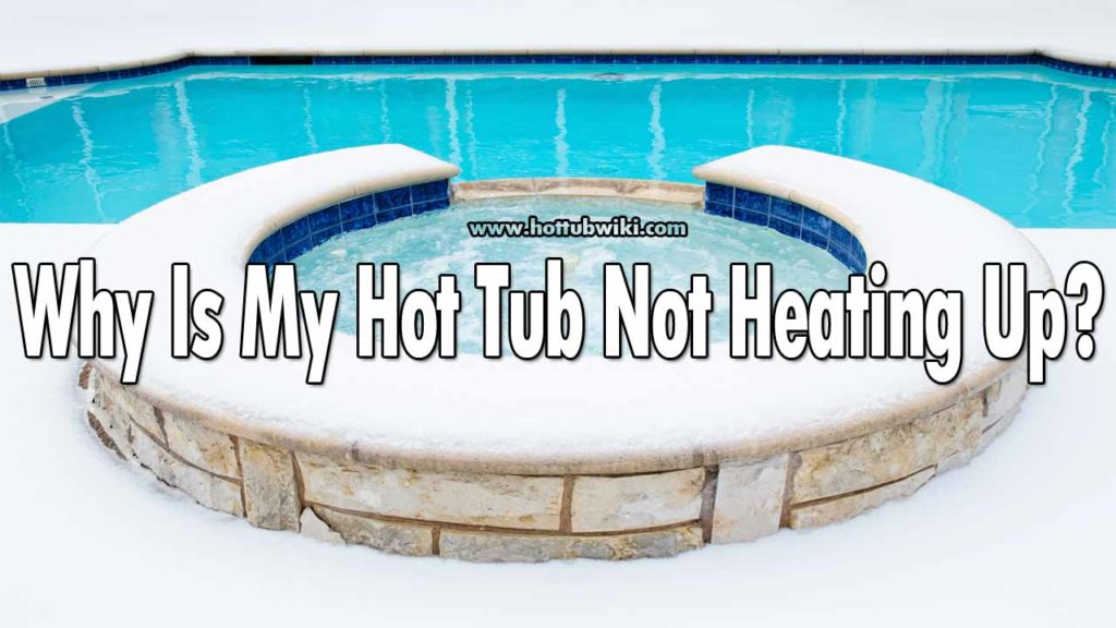 A heard this question a lot -- why is my hot tub not heating up? If you are having this problem then there are a few things that you should check. First, check your heater and see if it's working properly, then make sure to make a good water flow and good wiring.