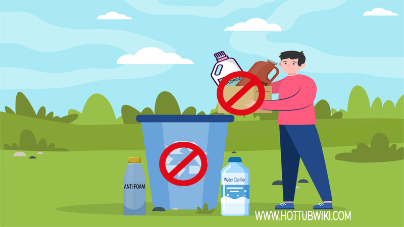 Should you throw expired hot tub chemical products?