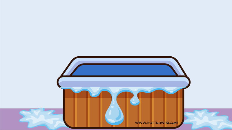 If you see water around your hot tub you will not know if your hot tub is leaking or evaporating. That's why we have explained how to know if my hot tub is evaporating or leaking.