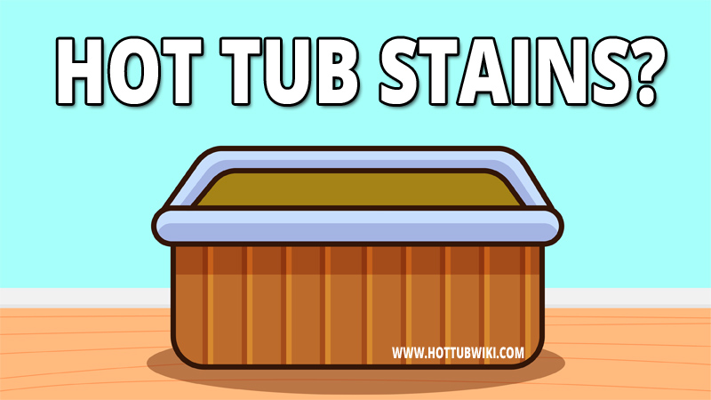 Most of the time, stains are a result of poor maintenance. There are a lot of other reasons why you might have stains in your hot tub. The reason doesn't matter, what matters is to know how to remove hot tub stains.