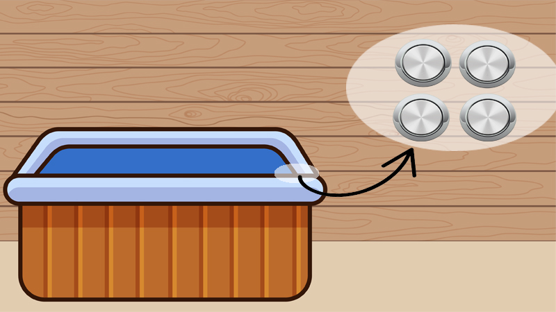 If you don't want to remove your jets, then read our guide where we teach you how to clean hot tub jets without removing them.