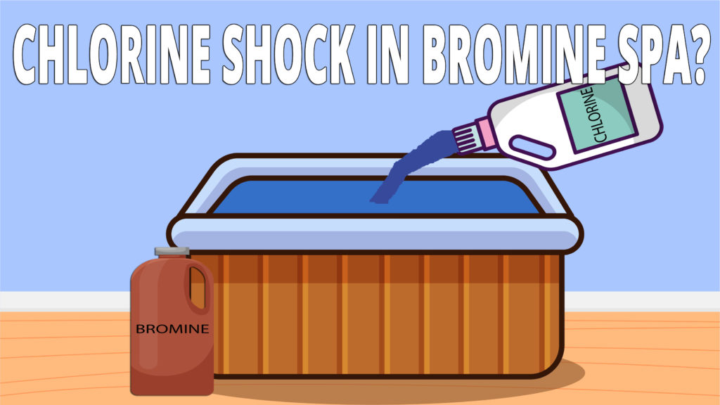 Chlorine and bromine are two different, yet similar sanitizers. But, can you use chlorine shock in a bromine spa? Yes, you can,