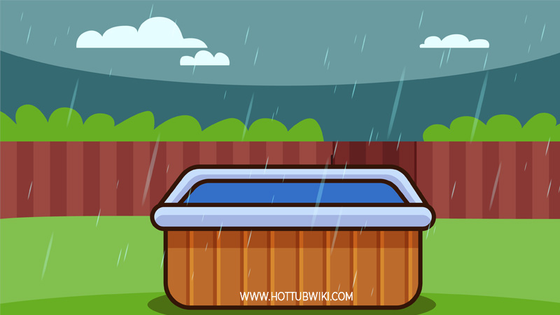 Can You Use a Hot Tub in the Rain (or Thunderstorms)?