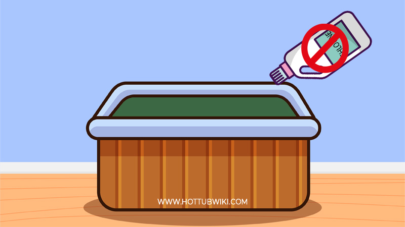 Does it hurt the hot tub if you don't use chemicals?