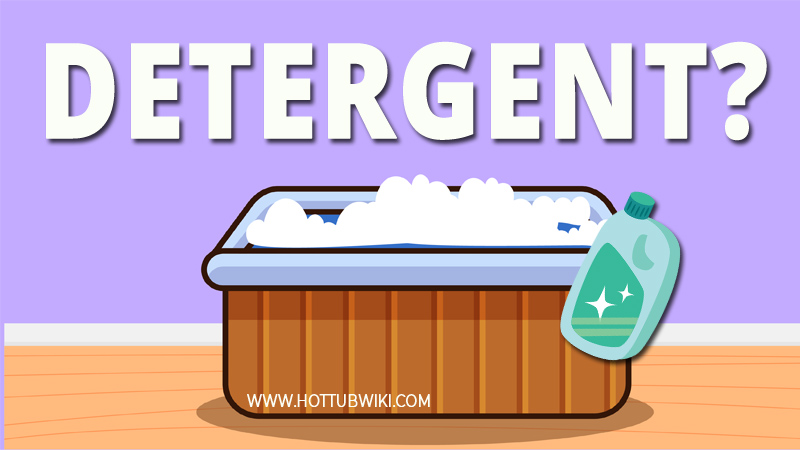 Knowing how to get detergent out of your hot tub water is important. Once you see foam, or bubbles in your hot tub it's good to act immediately. Leaving foam in your hot tub water for a long time can cause damages to the filters and jets.