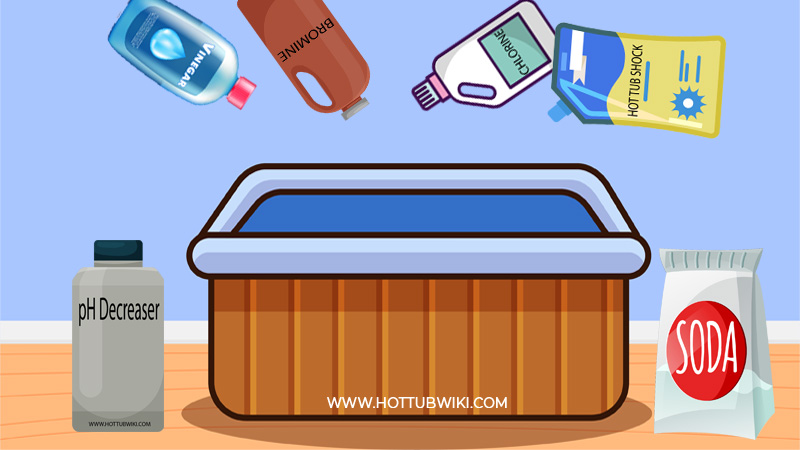 Here are the things that could be affecting your pH levels in your hot tub.