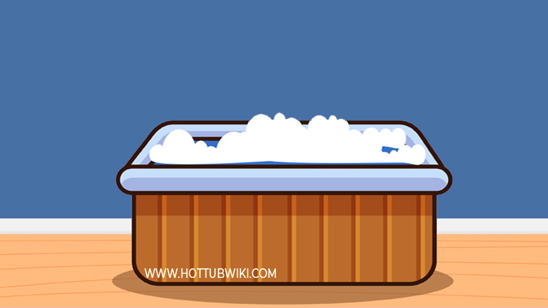 Why do you need to lower salt levels? You need to lower salt levels because it can cause corrosion to your hot tub shell, and it can also cause hot tub foam.