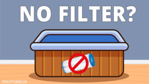 The filter is an important part of the hot tub. But, can you run a hot tub without a filter? Yes, you can but not for a long time.