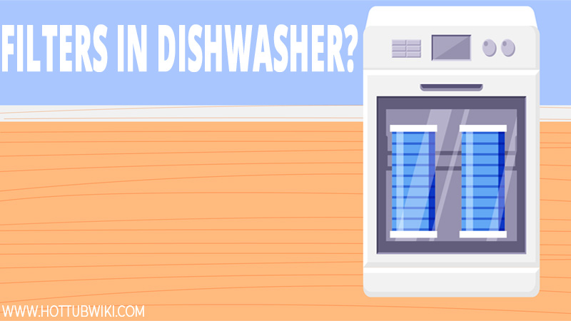 Can you use a dishwasher to clean your hot tub filters? You could, but it doesn't do a good job.