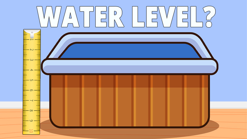 Here we have explained how high should a hot tub be filled. This is an important thing to know because if you fill the hot tub too much then it can damage your filters and your jets.