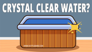 You can learn here how to keep the hot tub water crystal clear. There are 6 things that you need to do.