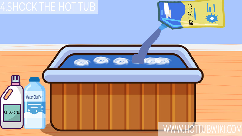 4. Shock the Hot Tub