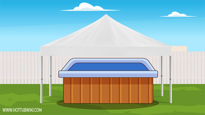Should a Hot Tub Be Under a Roof?