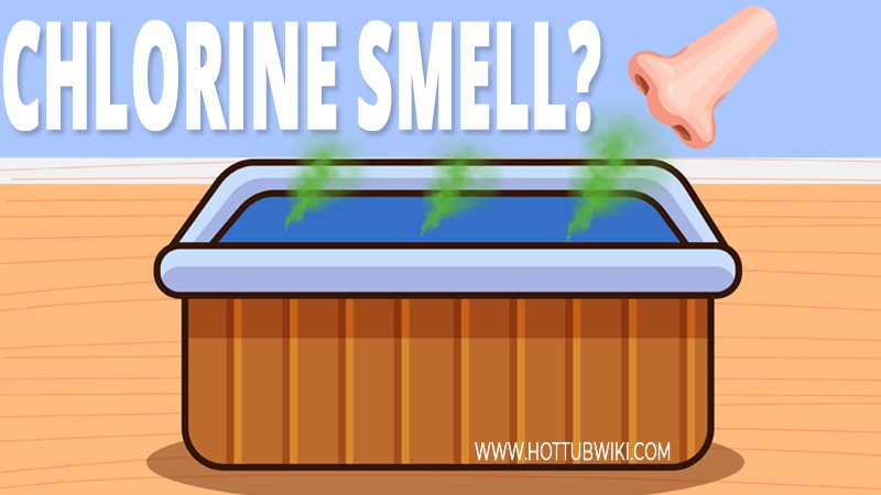 The main reason your hot tub is smelling like chlorine is because you have chloramines in your water.